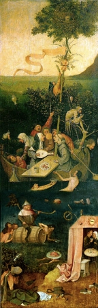 "Hieronymus Bosch, ""The Ship of Fools"""