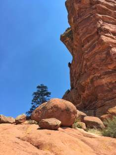 Some of Red Rock's red rocks.
